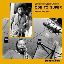 Ode to Super - CD Audio di Jackie McLean