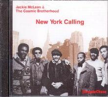 New York Calling - CD Audio di Jackie McLean