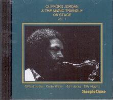 On Stage vol.1 - CD Audio di Clifford Jordan,Magic Triangle