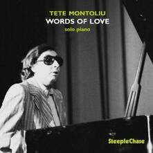 Words of Love - CD Audio di Tete Montoliu