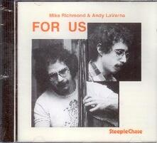 For us - CD Audio di Andy LaVerne,Mike Richmond