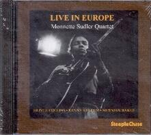 Live in Europe - CD Audio di Monnette Sudler