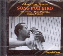 Song for Biko - CD Audio di Johnny Dyani