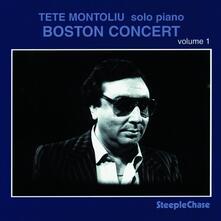 Boston Concert vol.1 - CD Audio di Tete Montoliu