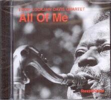 All of me - CD Audio di Eddie Lockjaw Davis