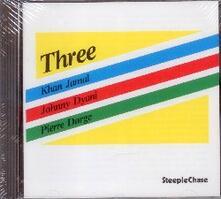 Three - CD Audio di Pierre Dorge,Johnny Dyani,Khan Jamal