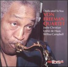 Dedicated To You - CD Audio di Von Freeman
