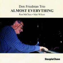 Almost Everything - CD Audio di Don Friedman
