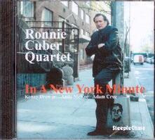 In a New York Minute - CD Audio di Ronnie Cuber