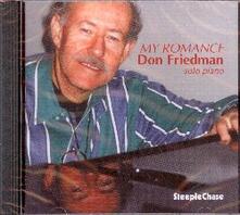 My Romance - CD Audio di Don Friedman