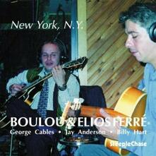 New York, N.Y. - CD Audio di Boulou Ferré