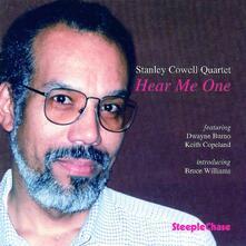 Hear me One - CD Audio di Stanley Cowell