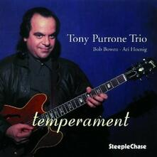 Temperament - CD Audio di Tony Purrone