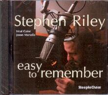 Easy to Remember - CD Audio di Stephen Riley