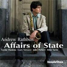 Affairs of State - CD Audio di Andrew Rathbun