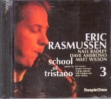 School of Tristano 3 - CD Audio di Eric Rasmussen
