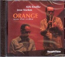 Orange Was the Color - CD Audio di Jesse Stacken,Kirk Knuffke