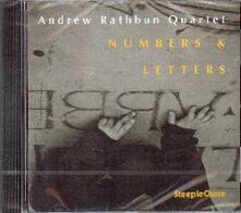 Numbers and Letters - CD Audio di Andrew Rathbun