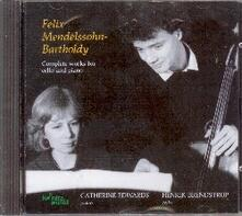 Musica completa per violoncello e pianoforte - CD Audio di Felix Mendelssohn-Bartholdy,Catherine Edwards,Henrik Brendstrup