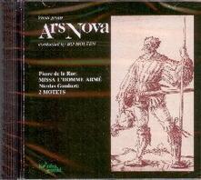 Missa l'homme armé - 2 Mottetti - CD Audio di Pierre De La Rue,Nicolas Gombert,Ars Nova