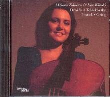 Sonate per violoncello e pianoforte - CD Audio di Antonin Dvorak,Pyotr Ilyich Tchaikovsky,César Franck,Ivan Klass,Michaela Fukacova
