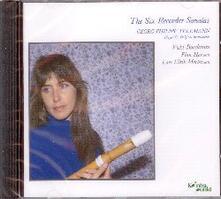 The Six Recorded Sonatas - CD Audio di Georg Philipp Telemann,Lars Ulrik Mortensen,Vicky Boeckman