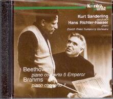 Concerti per Pianoforte n.1, n.5 - CD Audio di Ludwig van Beethoven,Johannes Brahms