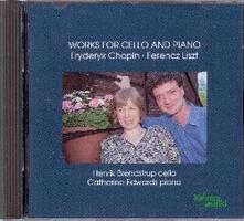 Musica per violoncello e pianoforte - CD Audio di Fryderyk Franciszek Chopin,Franz Liszt,Catherine Edwards,Henrik Brendstrup