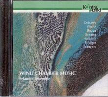 Musica da camera per fiati vol.1 - CD Audio di Claude Debussy,Selandia Ensemble