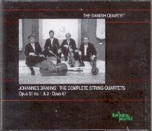 Quartetti per archi completi - CD Audio di Johannes Brahms,Danish Quartet
