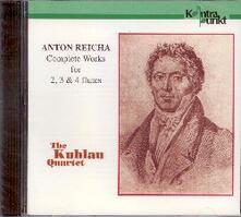 Musica per 2, 3 e 4 flauti - CD Audio di Antonin Reicha,Kuhlau Quartet