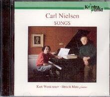 Songs - CD Audio di Carl August Nielsen