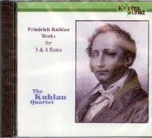 Works for 3&4 Flutes - CD Audio di Friedrich Kuhlau