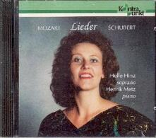 Lieder - CD Audio di Wolfgang Amadeus Mozart,Franz Schubert