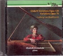 Variazioni Diabelli - CD Audio di Ludwig van Beethoven