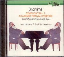 Sinfonia n.2 - Academic fe - CD Audio di Johannes Brahms