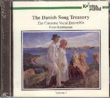 The Danish Song Treasury vol.2 - CD Audio di Wolfgang Amadeus Mozart,Canzone Vocal Ensemble