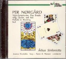 Works for Sinfonietta - CD Audio di Per Norgard,Arhus Sinfonietta