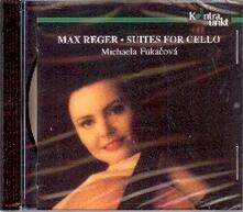 Suites for Cello - CD Audio di Max Reger