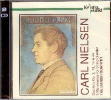 Complete Quartetti per Archi - CD Audio di Carl August Nielsen