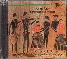 Symphonic Works - CD Audio di Zoltan Kodaly