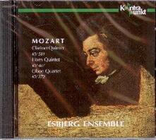 Clarinet Quintet Horn Quintet Oboe - CD Audio di Esbjerg Ensemble