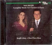 Complete Works for Clarin - CD Audio di Max Reger
