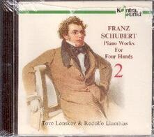 Piano Works for 4 Hands 2 - CD Audio di Franz Schubert