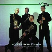 Astor Piazzolla. Tango - CD Audio di New Danish Saxophone Quartet