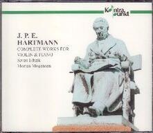 Musica completa per violino e pianoforte - CD Audio di Johan Peter Emilius Hartmann