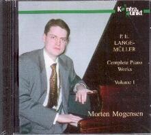 Musica per Pianoforte Completa vol.1 - CD Audio di Peter Erasmus Lange-Müller