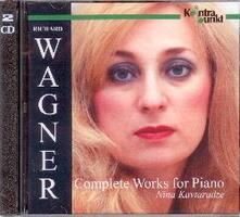 Musica completa per pianoforte - CD Audio di Richard Wagner,Nina Kavtaradze