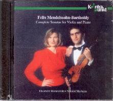 Complete Sonatas for Viol - CD Audio di Felix Mendelssohn-Bartholdy
