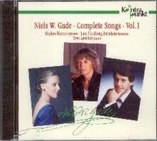 Complete Songs Vol.1 - CD Audio di Niels Wilhelm Gade